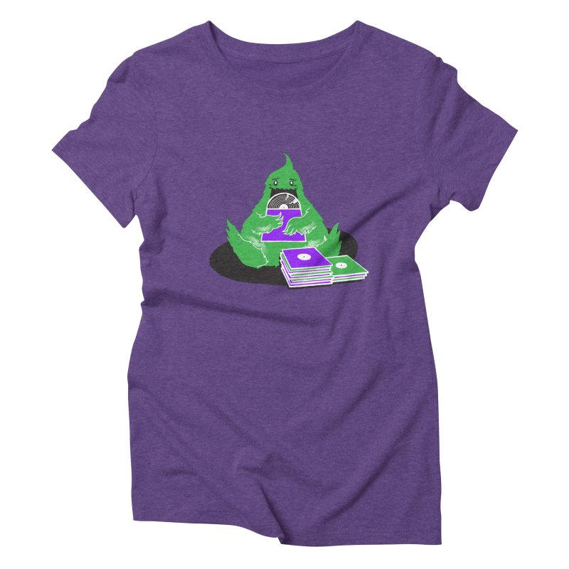 Fuzzy Has Good Taste! Women's Triblend T-shirt by John D-C's Artist Shop