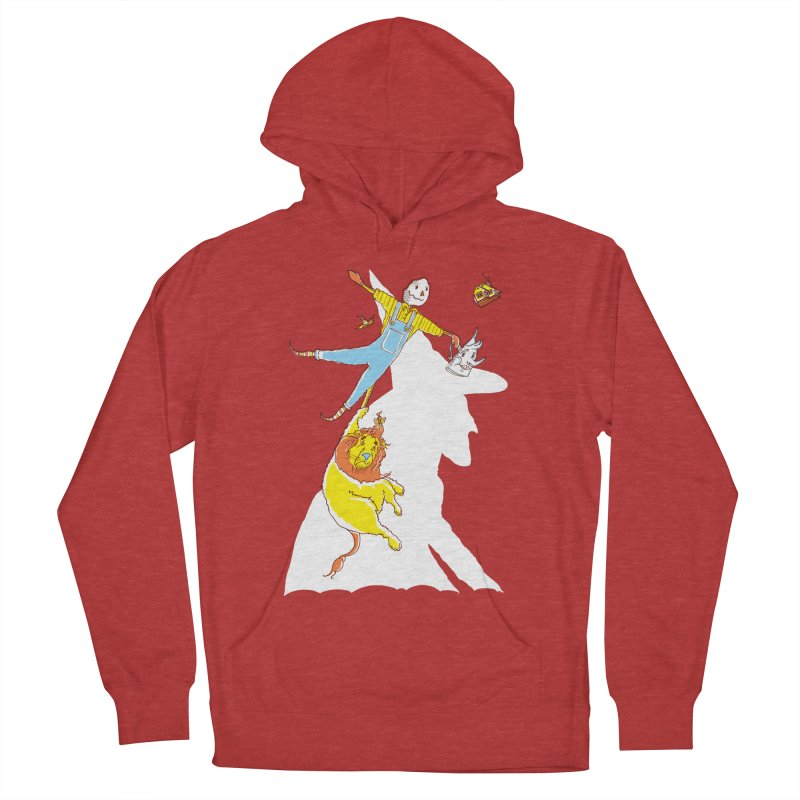 Home! Women's French Terry Pullover Hoody by John D-C
