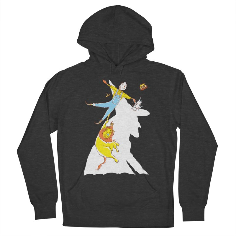 Home! Men's French Terry Pullover Hoody by John D-C's Artist Shop