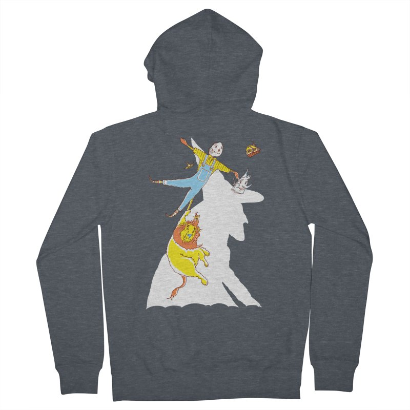 Home! Women's French Terry Zip-Up Hoody by John D-C's Artist Shop