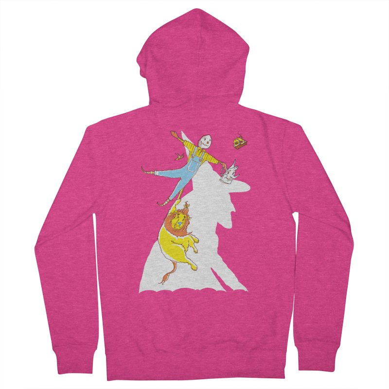 Home! Women's Zip-Up Hoody by John D-C's Artist Shop