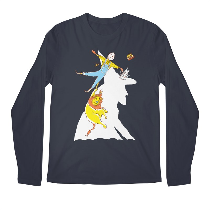 Home! Men's Longsleeve T-Shirt by John D-C's Artist Shop