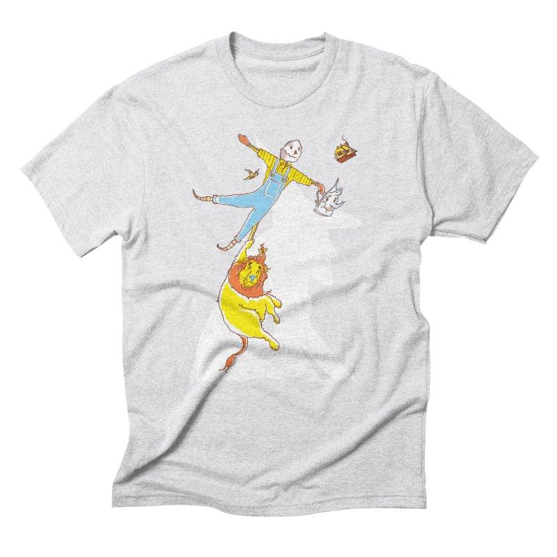Home! Men's Triblend T-shirt by John D-C's Artist Shop