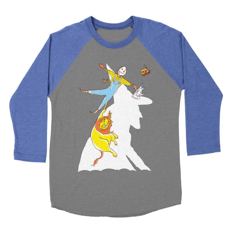Home! Men's Baseball Triblend Longsleeve T-Shirt by John D-C's Artist Shop