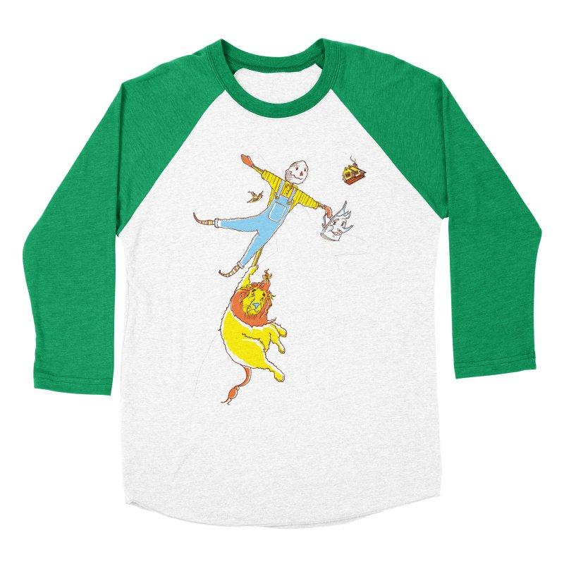 Home! Men's Baseball Triblend Longsleeve T-Shirt by John D-C