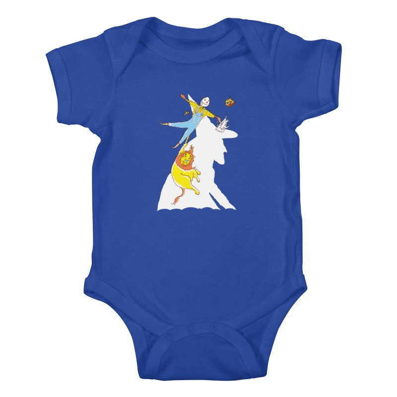Home! Kids Baby Bodysuit by John D-C