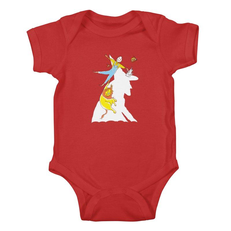 Home! Kids Baby Bodysuit by John D-C