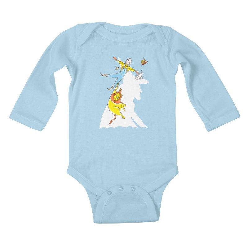 Home! Kids Baby Longsleeve Bodysuit by John D-C