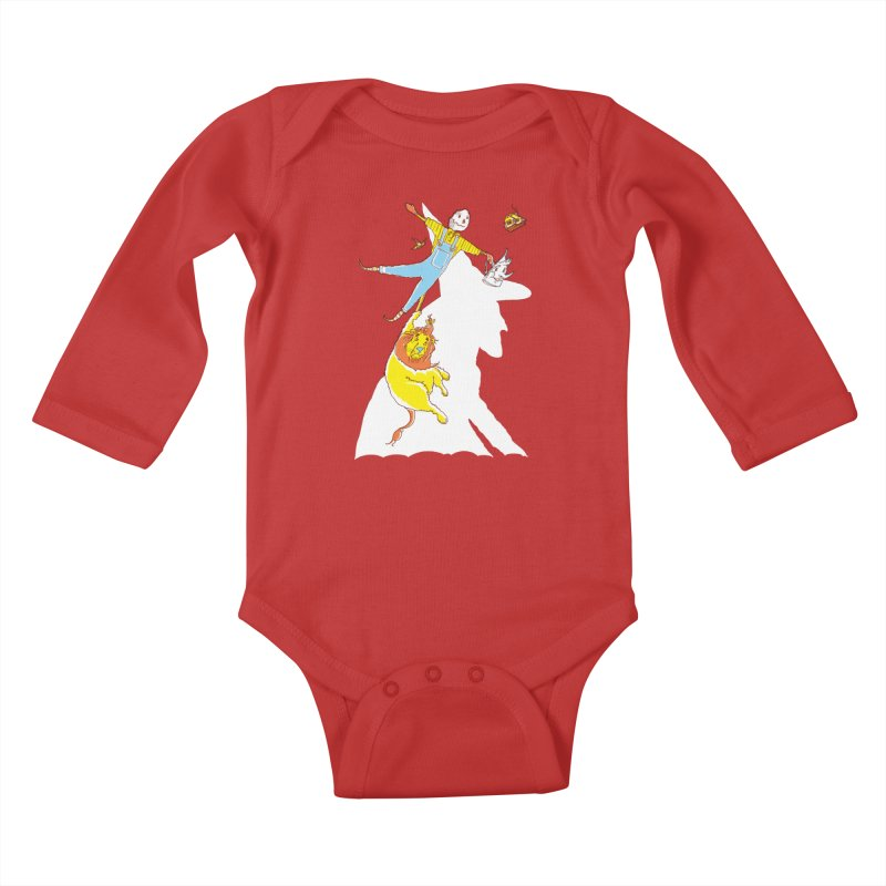 Home! Kids Baby Longsleeve Bodysuit by John D-C