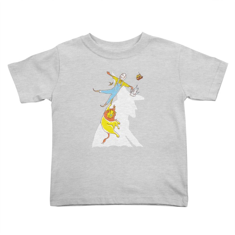 Home! Kids Toddler T-Shirt by John D-C's Artist Shop