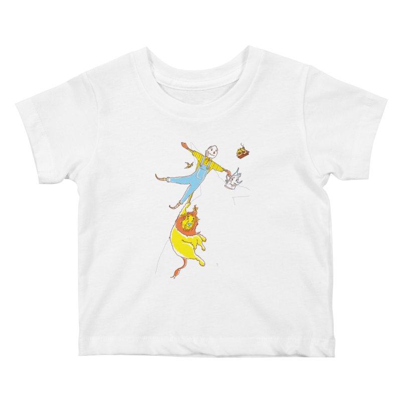 Home! Kids Baby T-Shirt by John D-C's Artist Shop