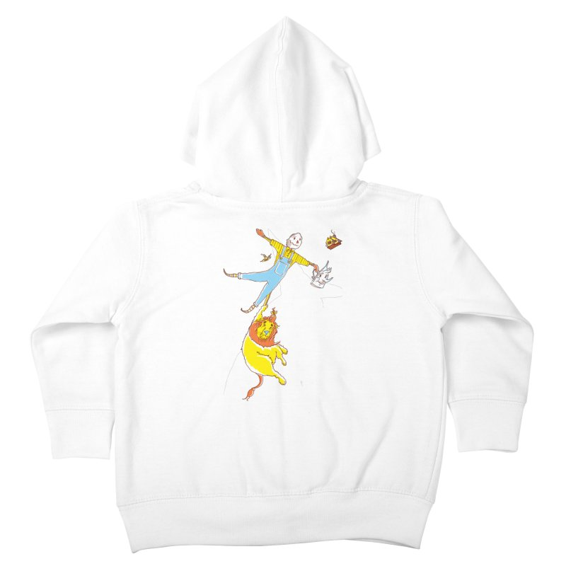 Home! Kids Toddler Zip-Up Hoody by John D-C's Artist Shop