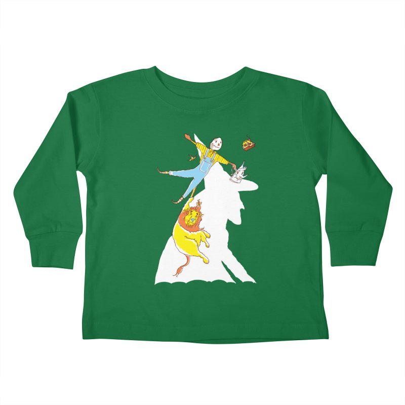 Home! Kids Toddler Longsleeve T-Shirt by John D-C's Artist Shop
