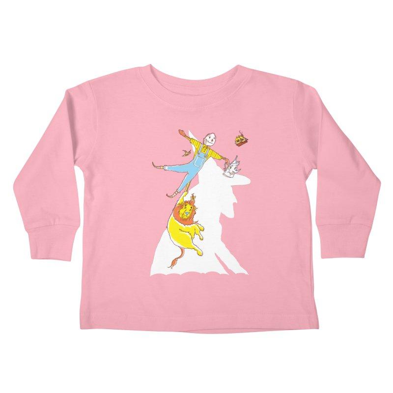 Home! Kids Toddler Longsleeve T-Shirt by John D-C's Artist Shop