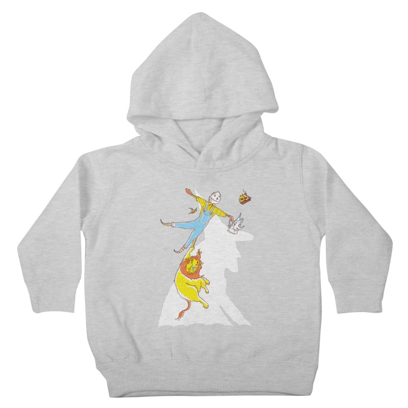 Home! Kids Toddler Pullover Hoody by John D-C's Artist Shop