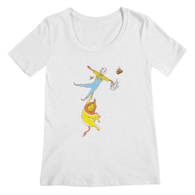 Home! Women's Scoopneck by John D-C's Artist Shop