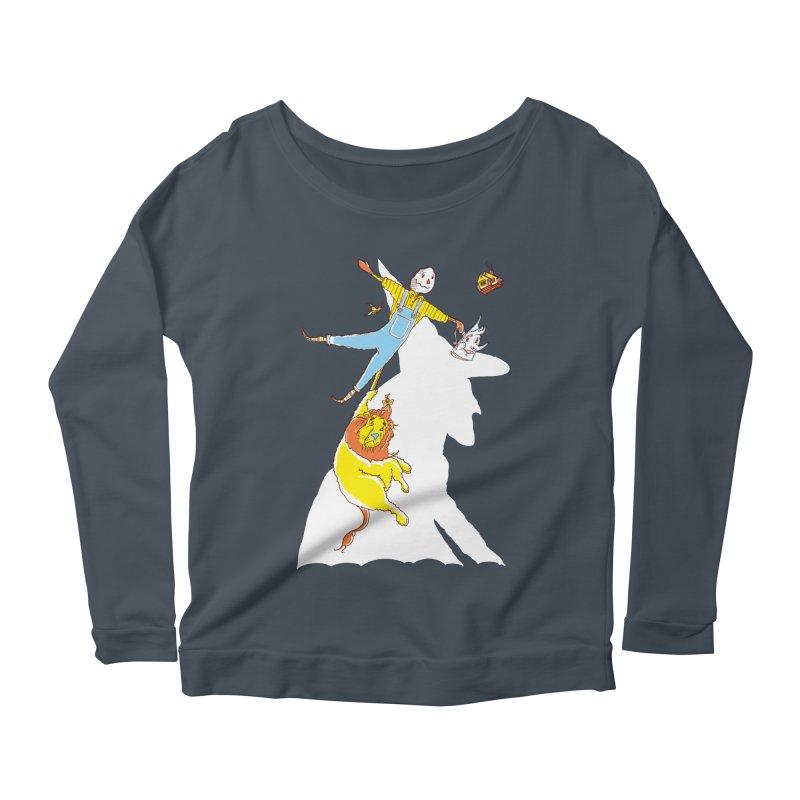 Home! Women's Scoop Neck Longsleeve T-Shirt by John D-C