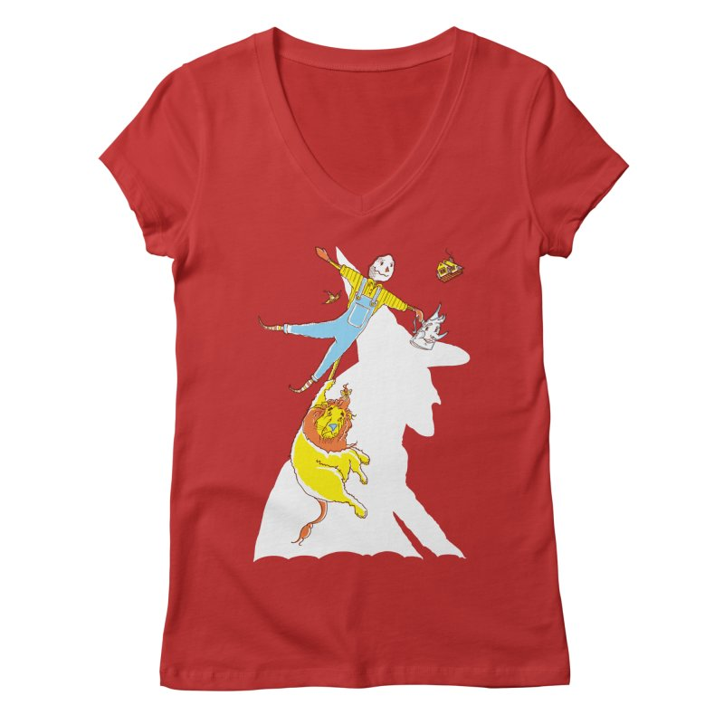 Home! Women's V-Neck by John D-C's Artist Shop