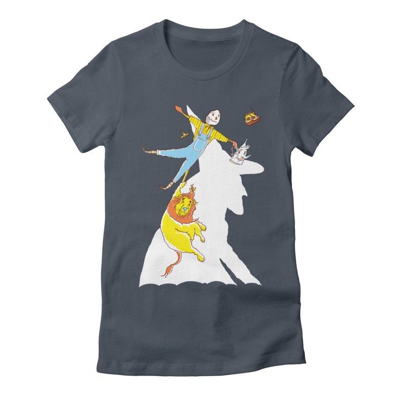 Home! Women's Fitted T-Shirt by John D-C's Artist Shop