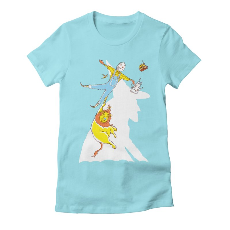 Home! Women's Fitted T-Shirt by John D-C's Artist Shop