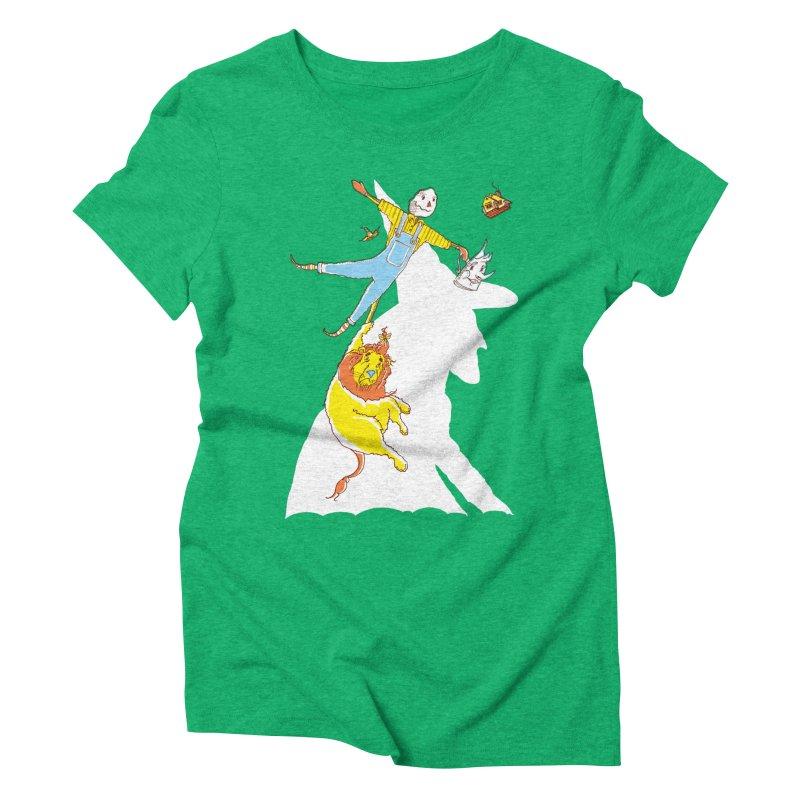 Home! Women's Triblend T-Shirt by John D-C's Artist Shop