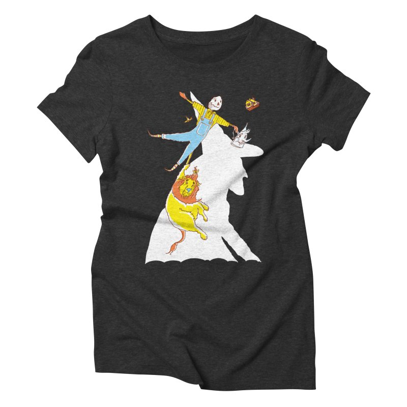 Home! Women's Triblend T-shirt by John D-C's Artist Shop