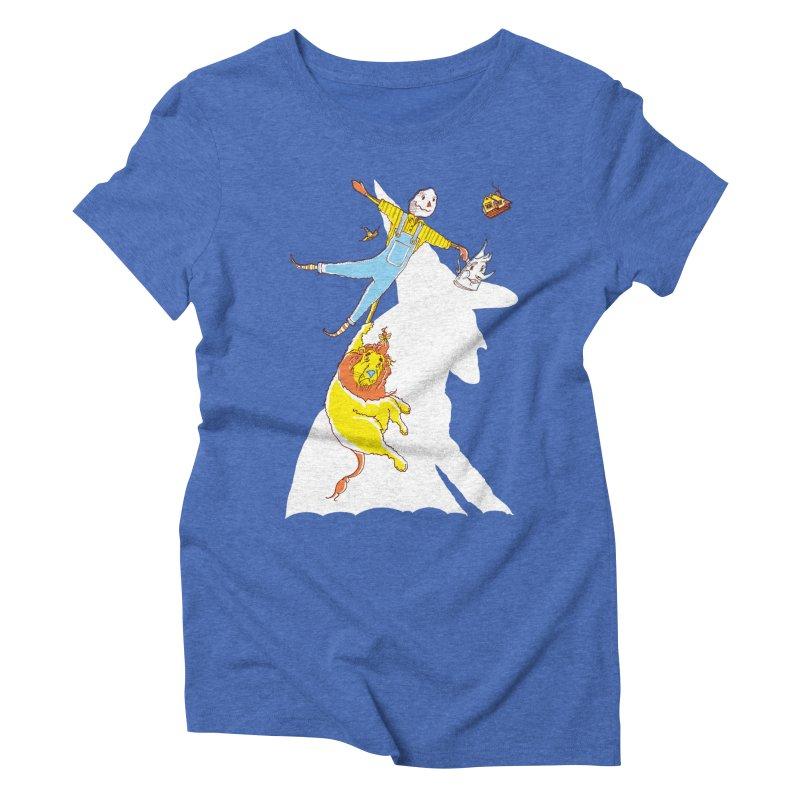 Home! Women's Triblend T-Shirt by John D-C