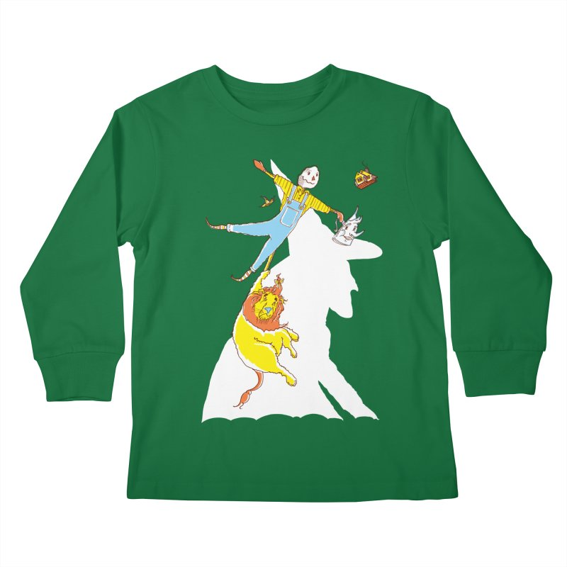 Home! Kids Longsleeve T-Shirt by John D-C's Artist Shop