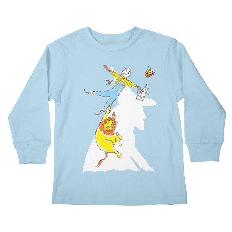 Home! Kids Longsleeve T-Shirt by John D-C's Artist Shop