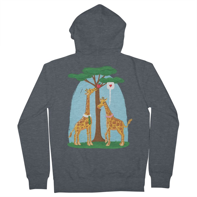Naturally Selected! Men's French Terry Zip-Up Hoody by John D-C's Artist Shop