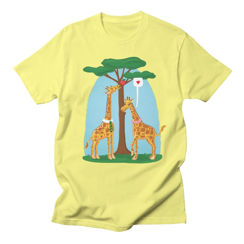 Naturally Selected! in Men's Regular T-Shirt Lemon by John D-C
