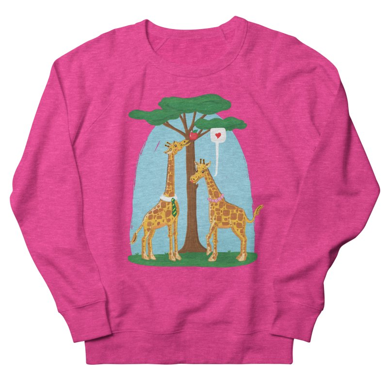 Naturally Selected! Women's French Terry Sweatshirt by John D-C's Artist Shop