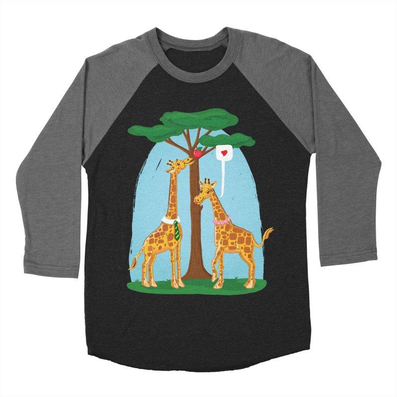 Naturally Selected! Men's Baseball Triblend Longsleeve T-Shirt by John D-C
