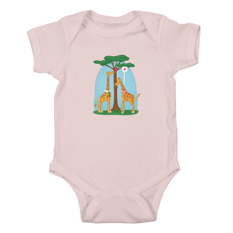 Naturally Selected! Kids Baby Bodysuit by John D-C's Artist Shop