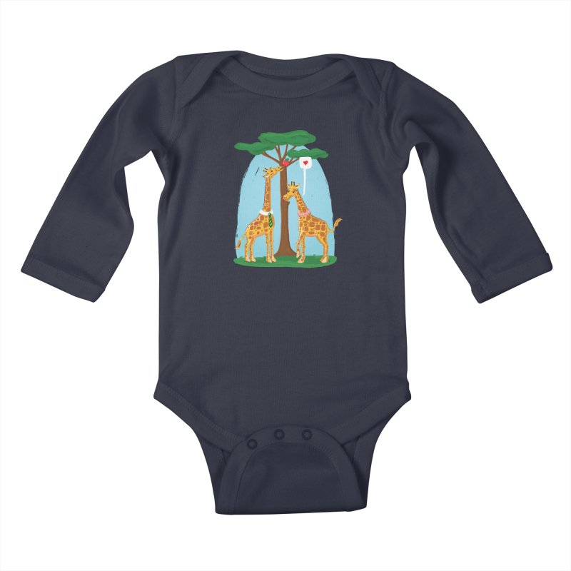 Naturally Selected! Kids Baby Longsleeve Bodysuit by John D-C
