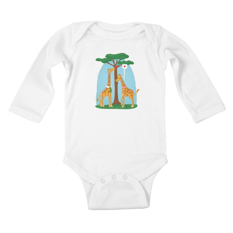 Naturally Selected! Kids Baby Longsleeve Bodysuit by John D-C's Artist Shop