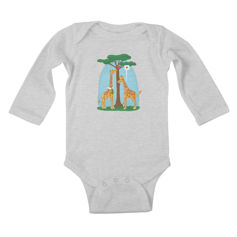 Naturally Selected! Kids Baby Longsleeve Bodysuit by John D-C's Artist Shop