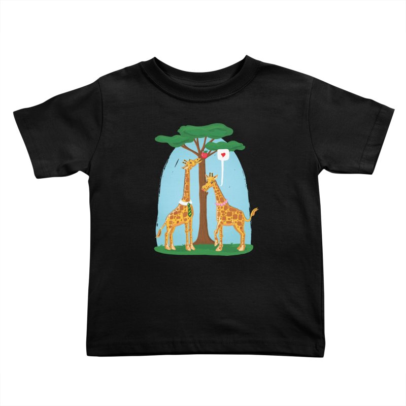 Naturally Selected! Kids Toddler T-Shirt by John D-C's Artist Shop