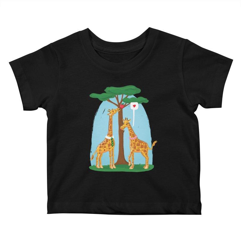 Naturally Selected! Kids Baby T-Shirt by John D-C's Artist Shop