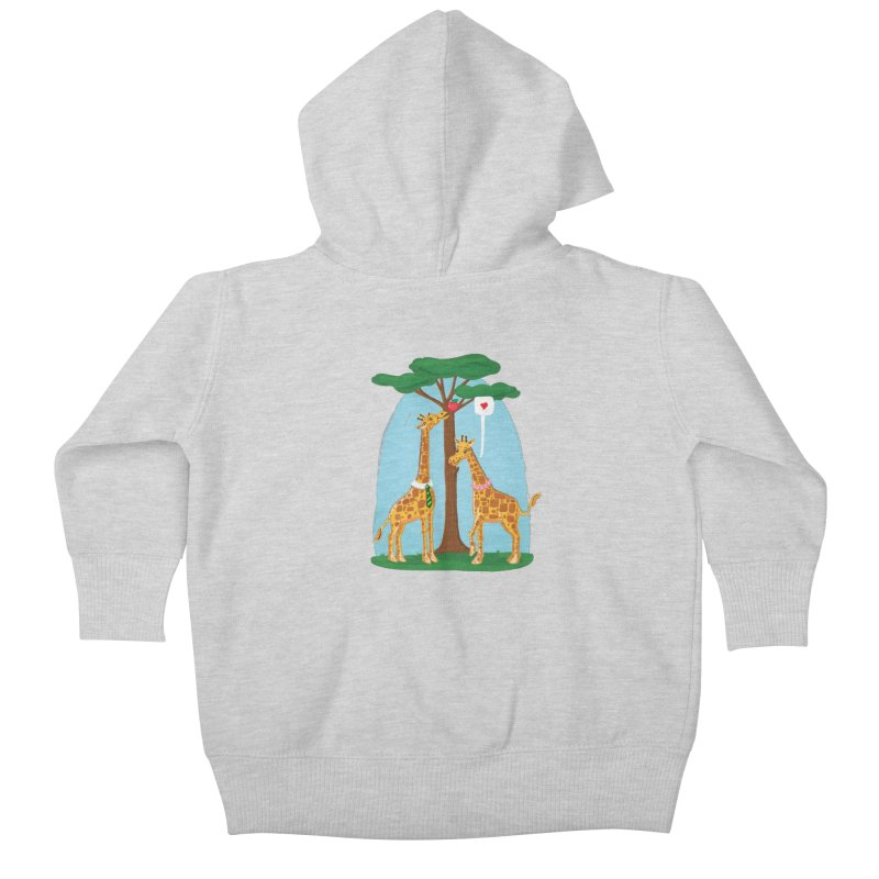 Naturally Selected! Kids Baby Zip-Up Hoody by John D-C's Artist Shop