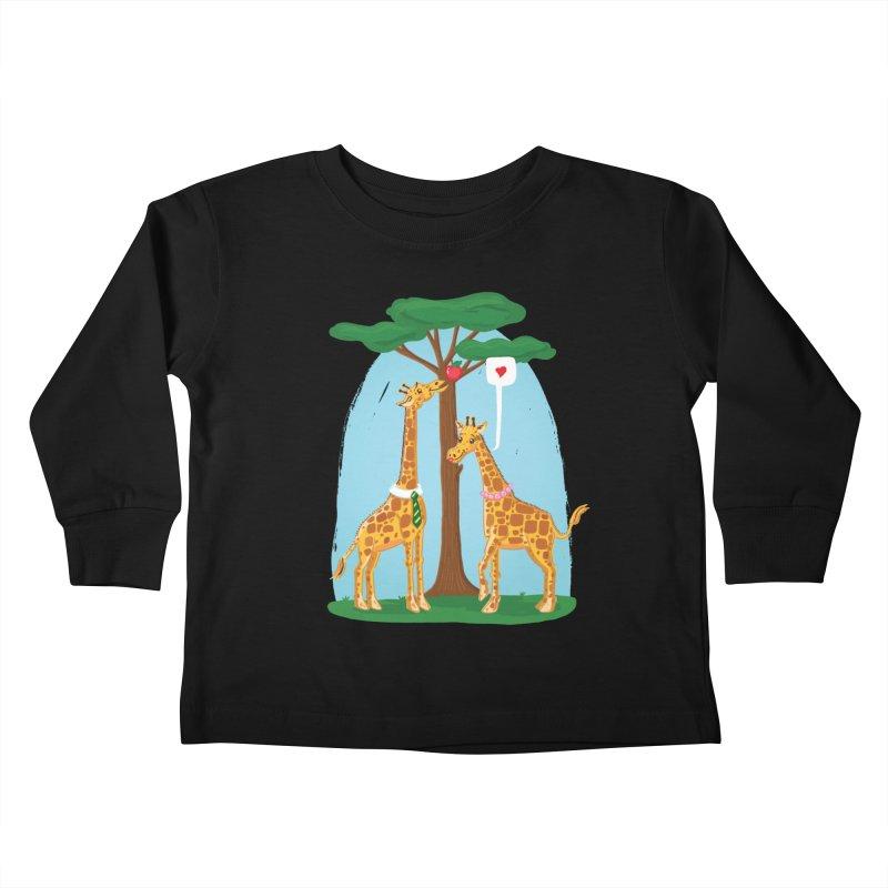 Naturally Selected! Kids Toddler Longsleeve T-Shirt by John D-C