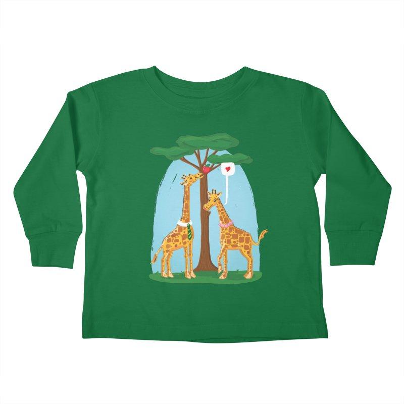 Naturally Selected! Kids Toddler Longsleeve T-Shirt by John D-C's Artist Shop