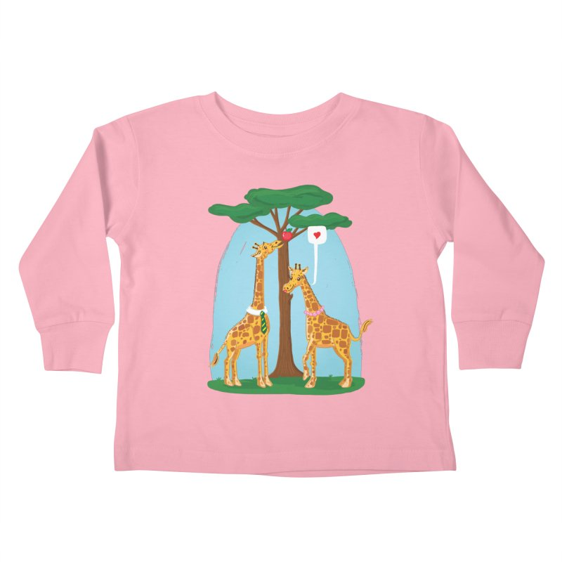 Naturally Selected! Kids Toddler Longsleeve T-Shirt by John D-C's Artist Shop
