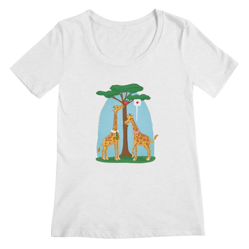 Naturally Selected! Women's Scoopneck by John D-C's Artist Shop