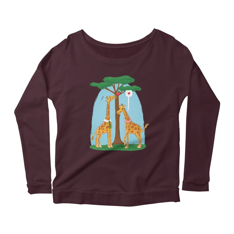 Naturally Selected! Women's Scoop Neck Longsleeve T-Shirt by John D-C's Artist Shop