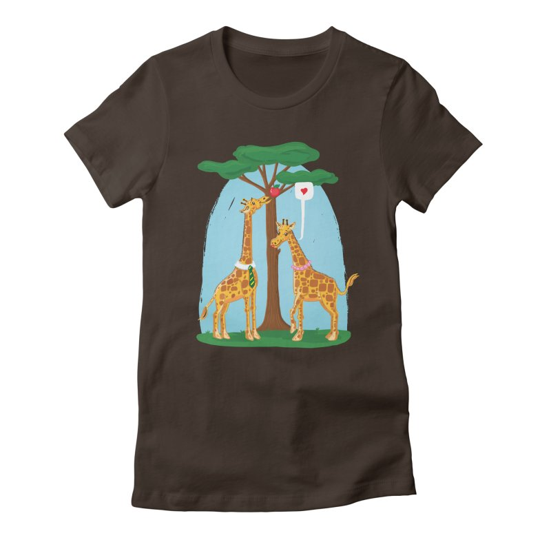 Naturally Selected! Women's Fitted T-Shirt by John D-C's Artist Shop