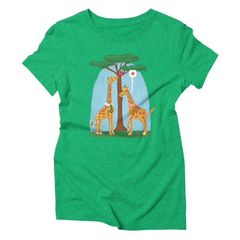 Naturally Selected! Women's Triblend T-Shirt by John D-C's Artist Shop
