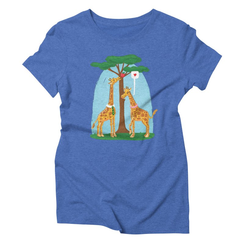 Naturally Selected! Women's Triblend T-shirt by John D-C's Artist Shop