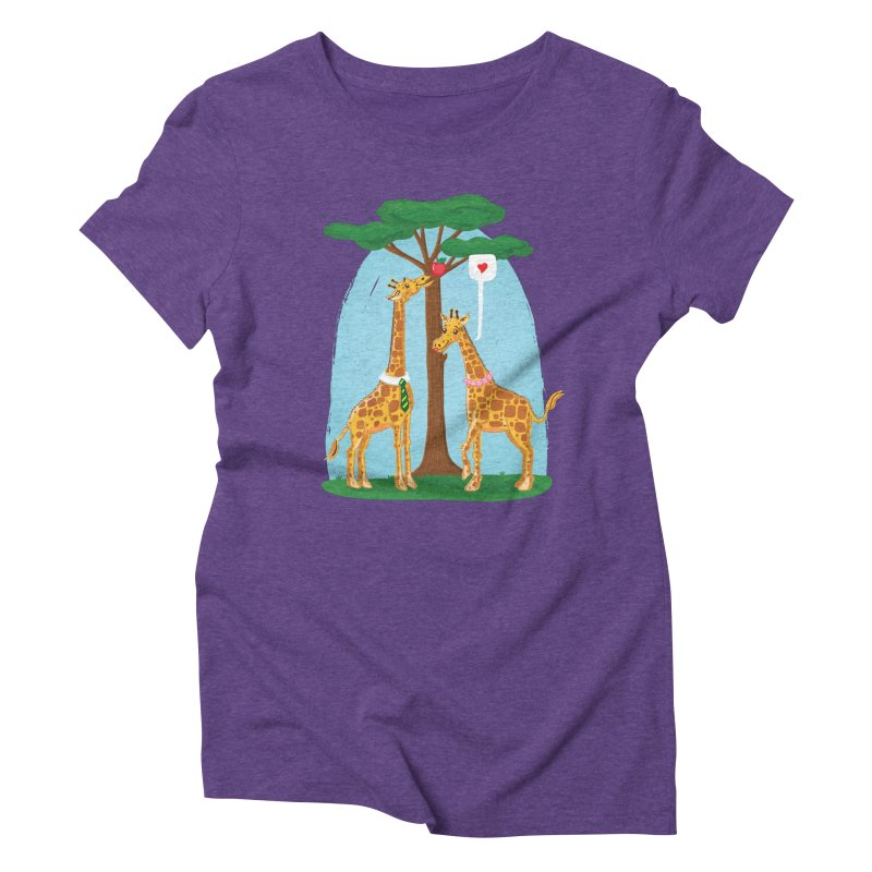 Naturally Selected! Women's Triblend T-Shirt by John D-C