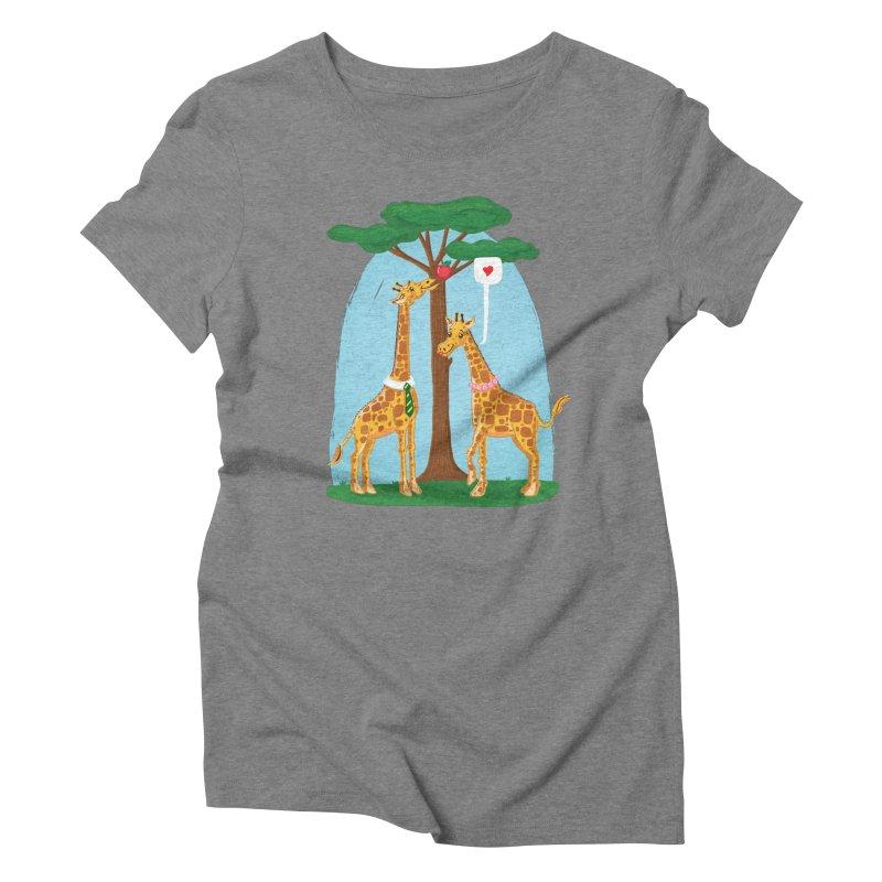 Naturally Selected! Women's Triblend T-Shirt by John D-C